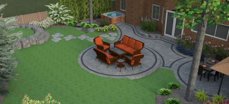 Melanie rekola landscape design 3d landscape designs for 3d garden design ideas